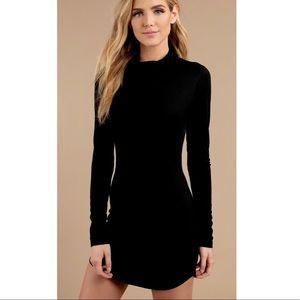 Black Bodycon Dress Size S NEW